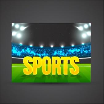 Sport stadium background