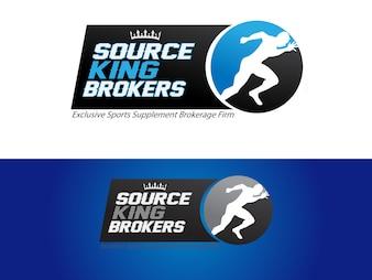 スポーツサプリメント仲介会社のロゴ