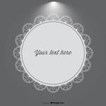 Spotlight Lace Badge Design