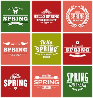 Spring designs collection
