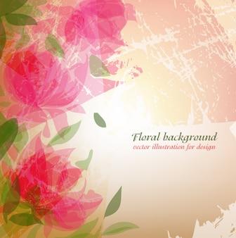 Spring romantic bouquet petal bloom
