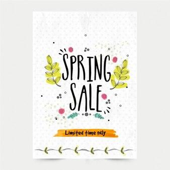 Spring sale brochure