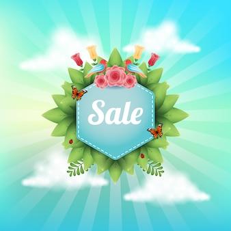 Spring sales design