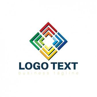 Squared corporative logo