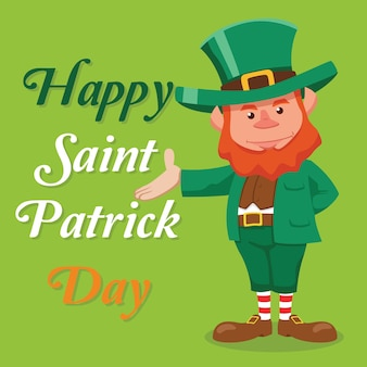 St. patrick's background design