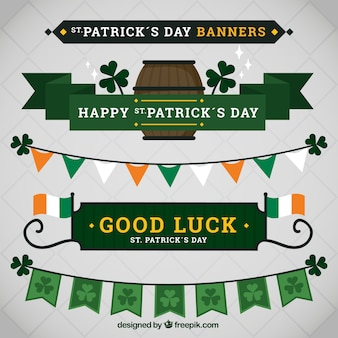 ST. Patrick's day banners pack