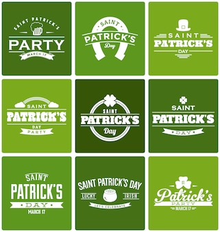 St. patrick's designs collection