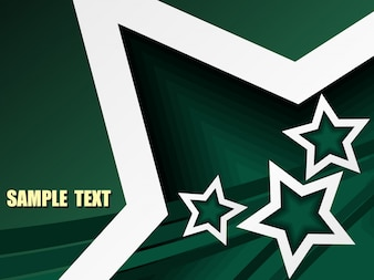 これは単純な星のベクトル設計です