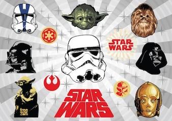 Star wars design elements