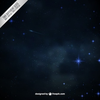 Starry space background