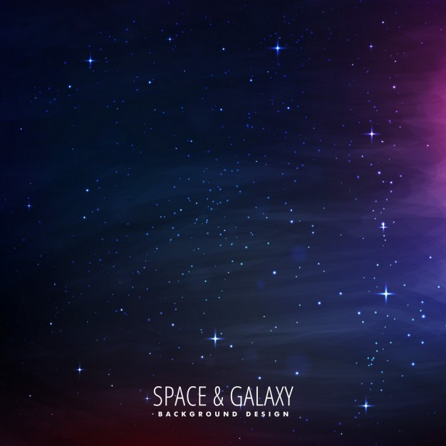 Stars filled space background
