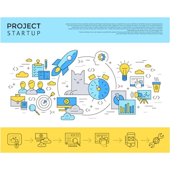 Start up company background