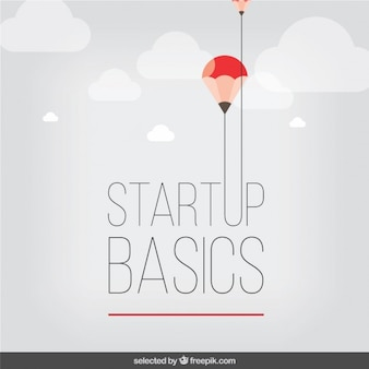 Startup lettering