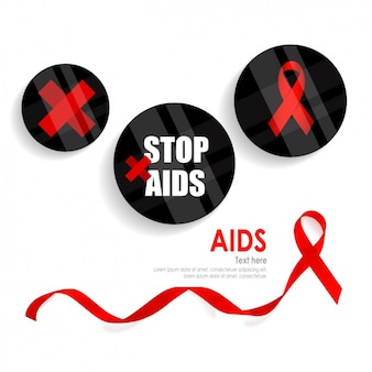 Stop aids background