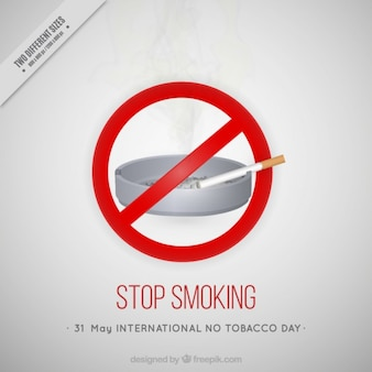 Stop smoking background