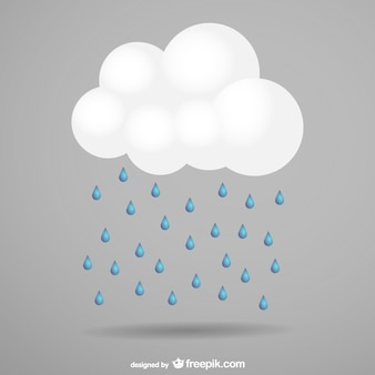 Storm cloud vector free