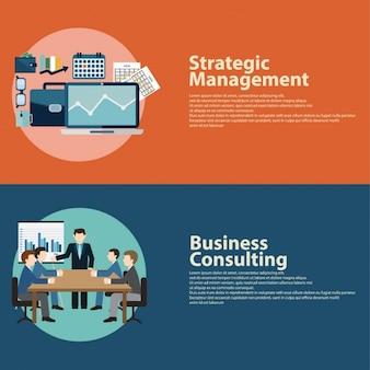 Strategic management infography
