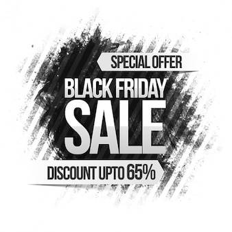 Striped black friday background with great discount