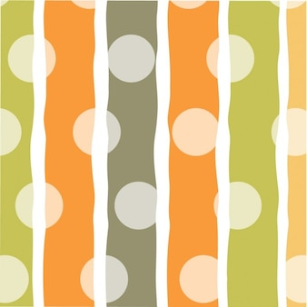 Stripes and circles background