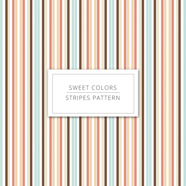 Stripes background in sweet colors