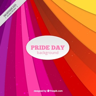 Stripes pride day backgrond in abstract style