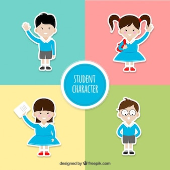 学生キャラクターズコレクション