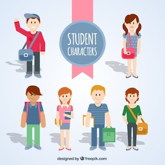 Student characters