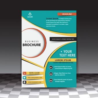 Stylish business brochure template