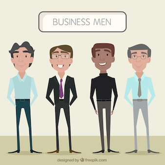 Stylish business men