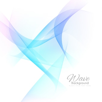 Stylish colorful wavy background