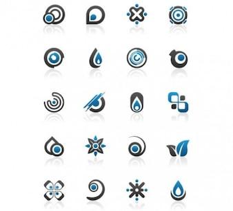 stylish logo types illustrator vector