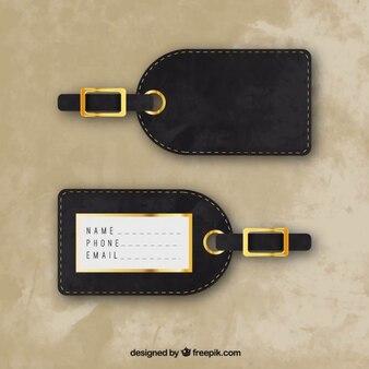 Stylish luggage tag