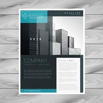 Stylish modern brochure template