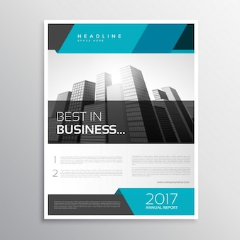 Stylish modern business flyer