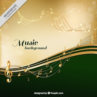 Stylish musical background