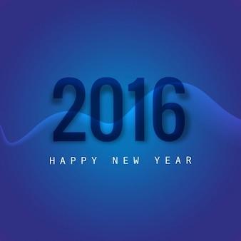 Stylish new year 2016 greeting