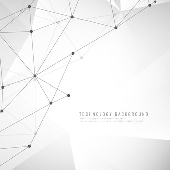 Stylish technological background