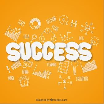 Success background