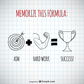 Success formula vector
