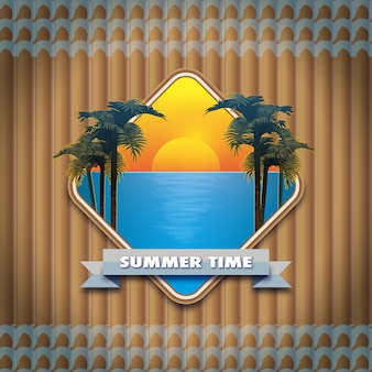 Summe time background
