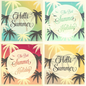 Summer background collection