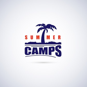 Summer camps background