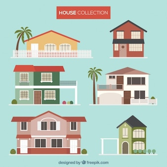 Images Of Houses houses collection vector | free download