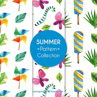 Summer pattern collecti
