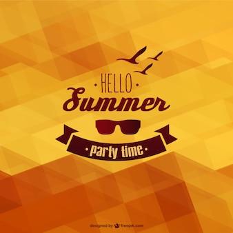 Summer template background