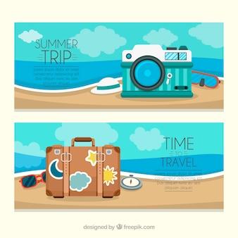 Summer trip banner
