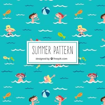Summertime pattern