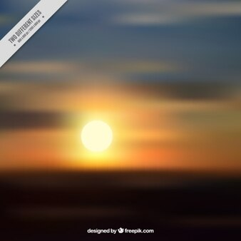 Sun with colorful background