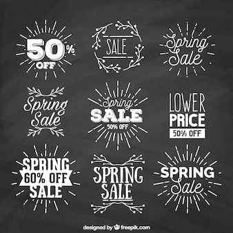 Sunburst spring sale labels