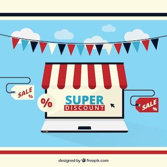 Super discount online